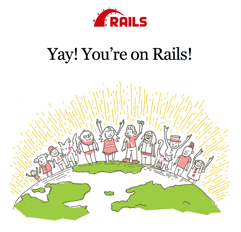 Rails welcome